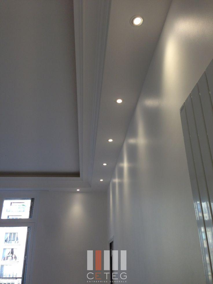 Voilà mon salon petite idée de Deco question de réalisation - faud - peinture plafond mat ou brillant