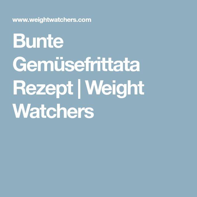 Bunte Gemüsefrittata Rezept | Weight Watchers