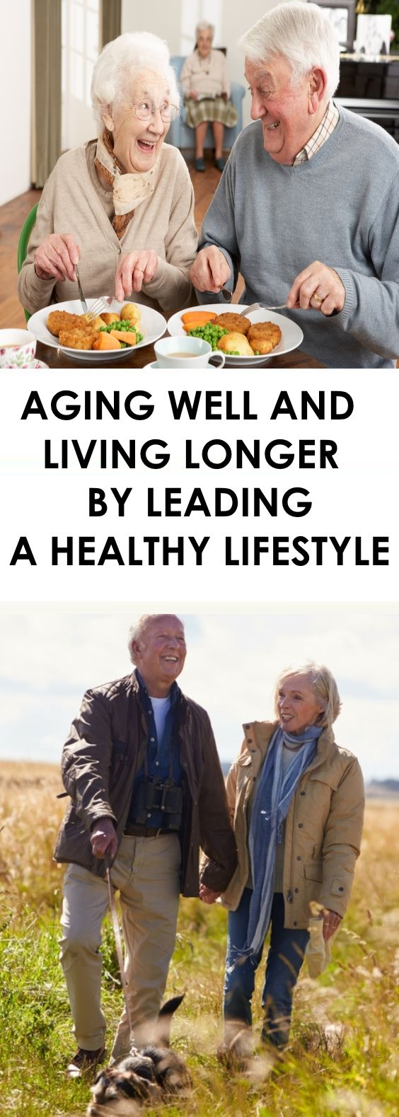 Aging Well and Living Longer by Leading a Healthy Lifestyle
