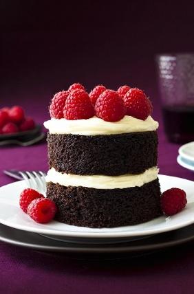 cute little choclate cake