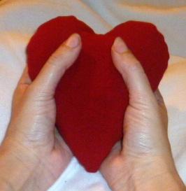 scaldotto a forma di cuore