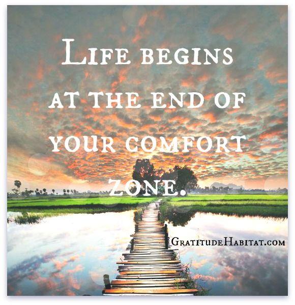 Life begins at the end of your comfort zone. #entrepreneur #entrepreneurship