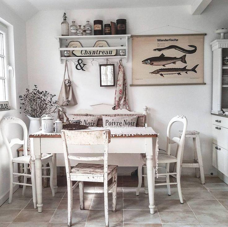 más de 25 ideas increíbles sobre küche deko shabby chic en ... - Küche Shabby Chic