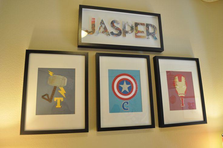 geeky nurseries   Geektrooper Original: How I Assembled a Marvel-ous Nursery