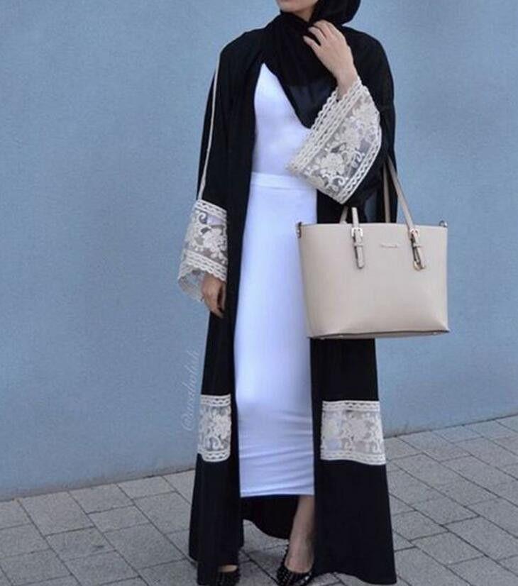 Kimono Abaya Open Front