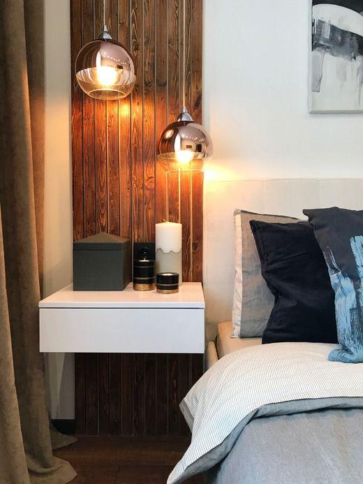 Однокомнатная квартира для молодого человека. Спальня