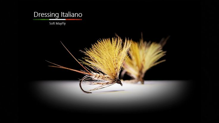 Costruzione mosche secche: SOFT MAYFLY by Dressing Italiano