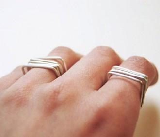 Square Stacking Ring