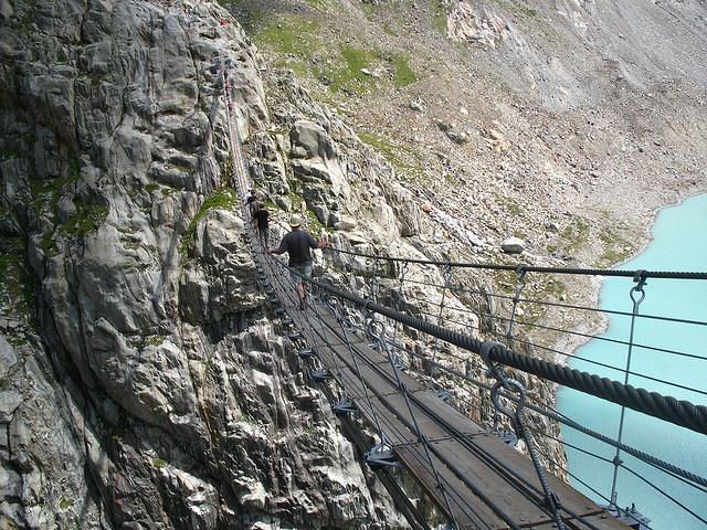 Ponte de Triftbrücke - Suiça
