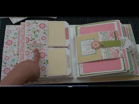 Bundle of Joy Baby Girl Mini Album - YouTube