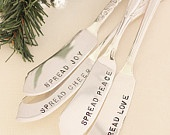 Stamped butter knife
