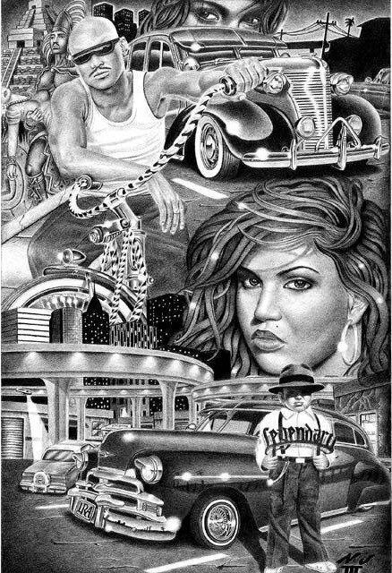 131 best images about chicano art on Pinterest | Mexican ...