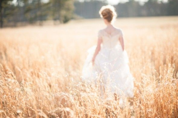 Country Wheat Field Wedding Inspiration