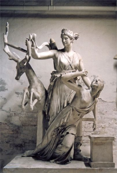 In At Least One Version Of The Myth Iphigenia As Her Father Agamemnon Prepared