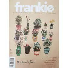 boek, australisch tijdschrift Frankie, 10,99 bij Athenaeum boekhandel Amsterdam (webwinkel) of Bijenkorf niet dit nummer maar nr. 55 of 56