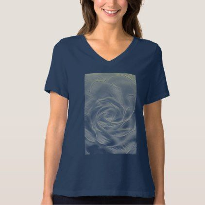 #flower - #Yellow Rose Abstract T-Shirt