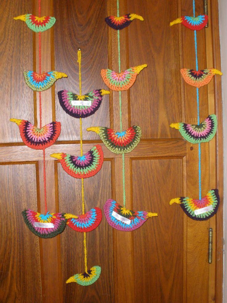 Chalecos Tejidos Lana Con Terminaciones Crochet Bufanda Kamistad