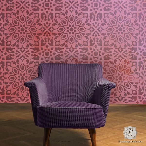 25 Best Ideas About Moroccan Wallpaper On Pinterest: Best 25+ Moroccan Wall Stencils Ideas On Pinterest