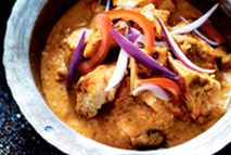 This dish is a takeaway classic and there's no need to stop enjoying this spicy favourite while slimming. It uses fat-free natural yogurt to provide the creamy taste without the calories.