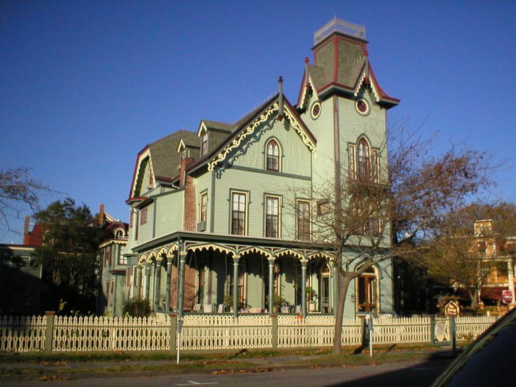 The abbey cape may nj 1870 gothic revival a b b in cape Nice houses in new jersey