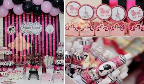festa infantil barbie moda e magia. confira todos os detalhes da festa e quem fez visitando nosso blog www.fazendo-festa.net
