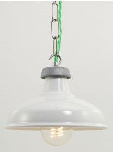 white kitchen shade | pendant