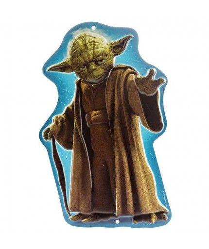 Star Wars Yoda Embossed Tin Sign