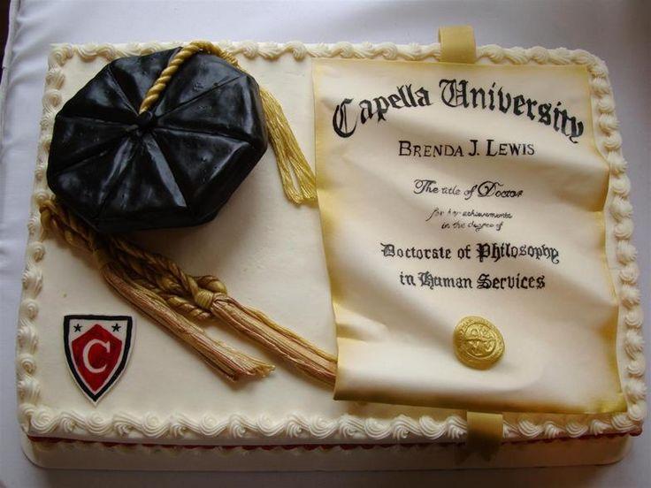 Thesis for phd graduation invitations