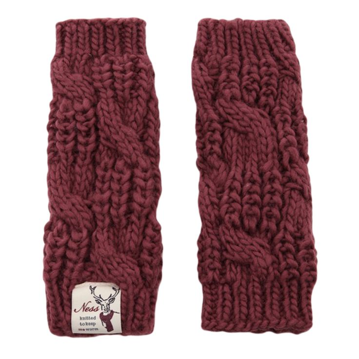 Dusky Rose Cabley Wrist Warmers are in stock at Gifts and Collectables online as well as a range of Ness hanbags and gifts - order online today