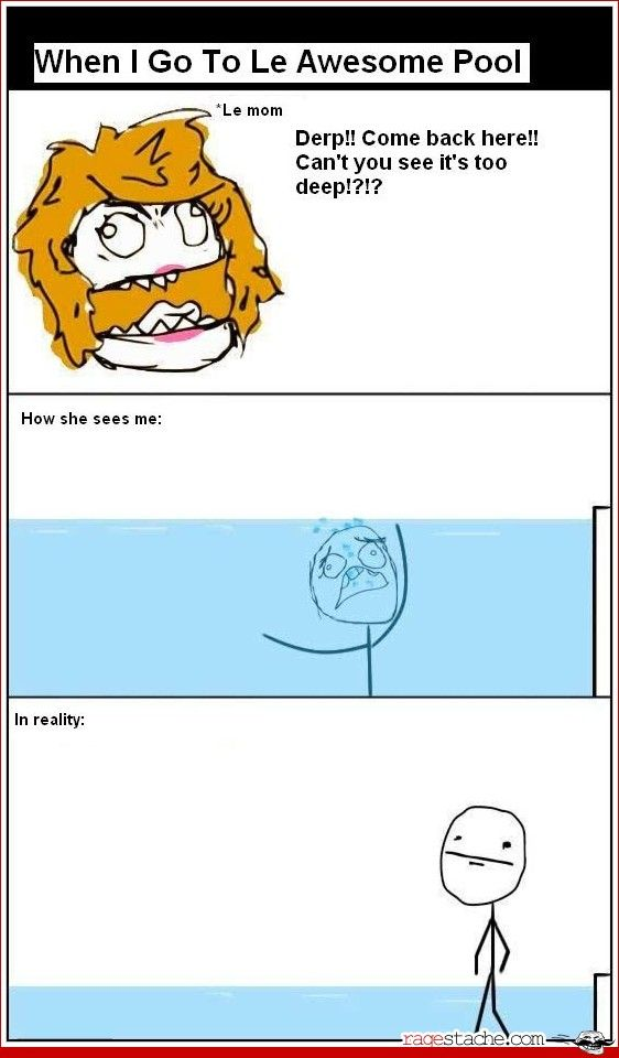 Comic - LOLLe Awesome, Funny Stuff, Humor, Funnyness Quotes, Laugh Medicine, Favorite Funny, Awesome Pools, Pools Tho, Mom Stuff
