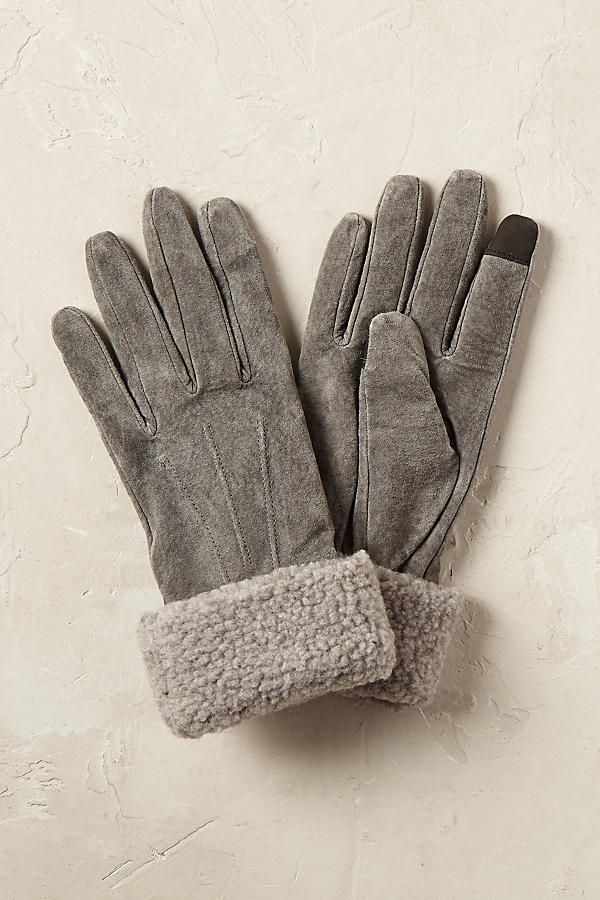 Slide View: 1: Sheepskin Gloves