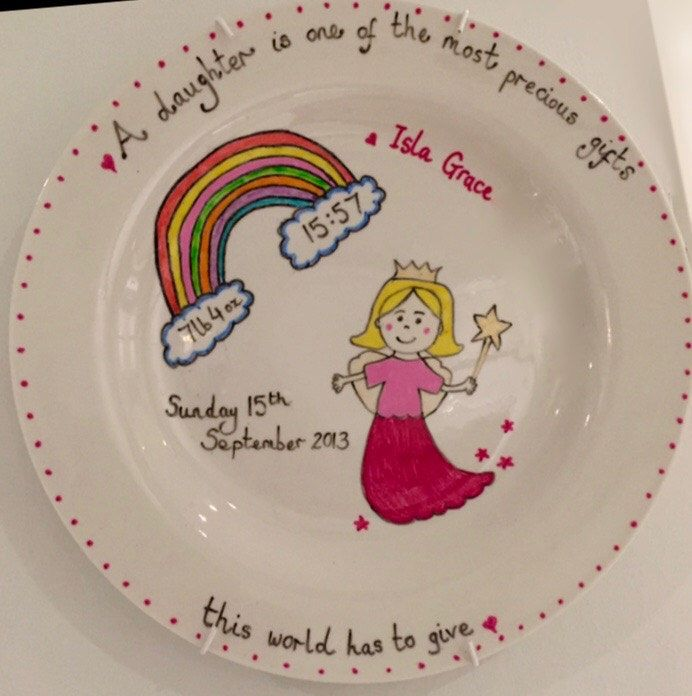 A personal favourite from my Etsy shop https://www.etsy.com/uk/listing/288999967/personalised-handmade-fairy-display