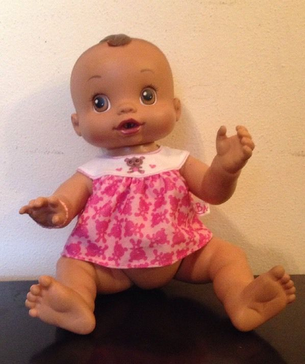 "2006 Hispanic Baby Alive Anatomically Girl Doll Wet n Wiggle VIDEO 12"" #Hasbro #Dolls"