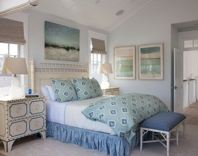 I Love The Soothing Coastal Color Palette And The Wall Color. Paint Color  Is U201cPratt U0026 Lambert Whitecap Gray