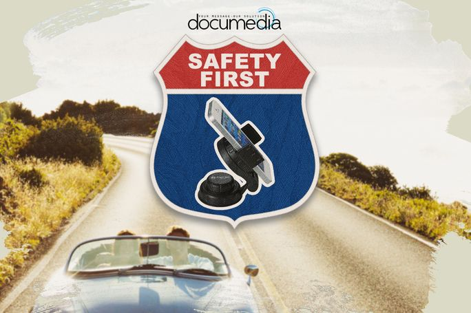 Help keep your customers safe behind the wheel with a hands free cell phone solution. This smartphone holder attaches to the dashboard or windshield and swivels for optimal viewing. This Dashboard Phone Holder will speak volumes to your customers. http://documediagroup.mypromohq.com/product/PLP17049 #phoneholder #safety