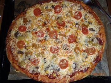 Zobrazit detail - Recept - Pravá italská pizza pro každého