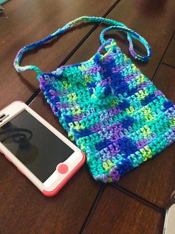 Crochetd purse