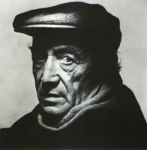 Irving Penn, Isamu Noguchi, 1983