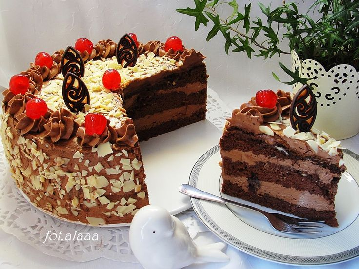 Ala piecze i gotuje: Tort czekoladowy