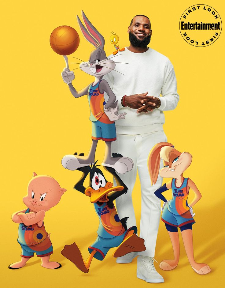Game On Lebron James Balls Out In Space Jam A New Legacy First Look In 2021 Space Jam Looney Tunes Space Jam Looney Tunes Wallpaper