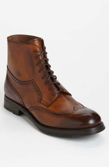 I LOVE!! Sassetti Wingtip Boot available at Nordstrom #mensfashion #shoegame #style