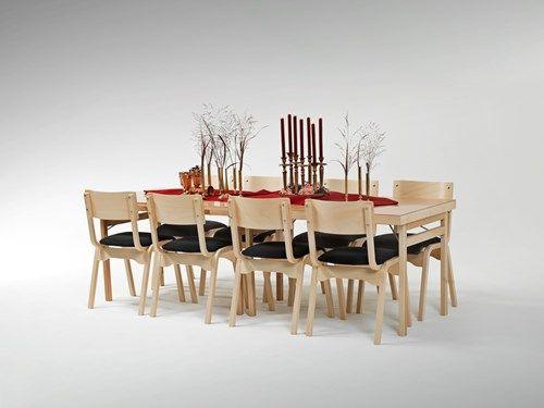 Jubileumsbordet - hopfällbart bord i bok - Fixbordet