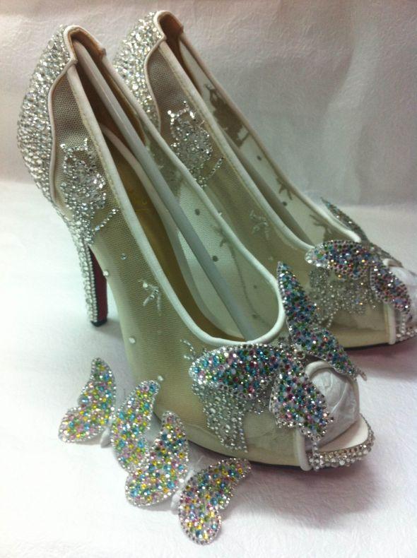 christian louboutin cinderella shoes giveaway winner