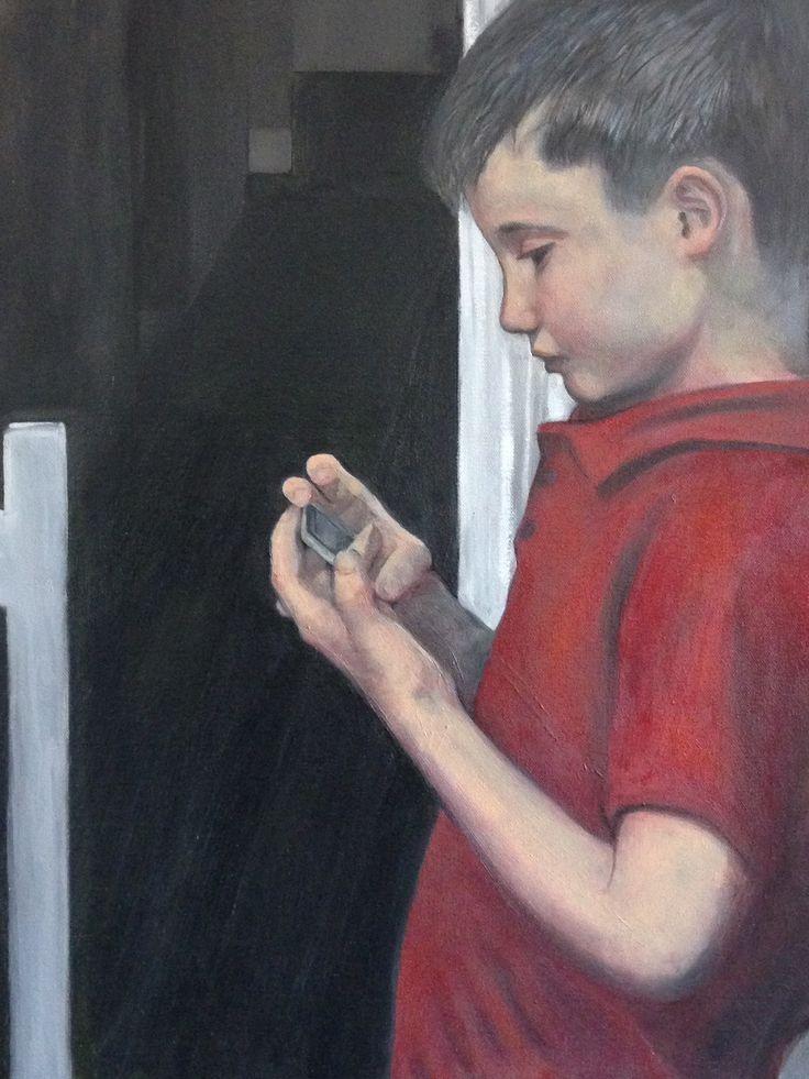 Angus - Oil on Canvas - Rosetta Mastrantone