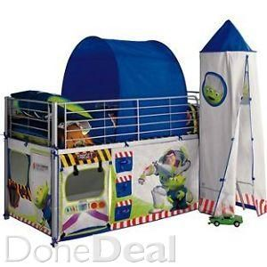 Toy Story Mid Sleeper Bed For Sale in Wicklow : €180 - DoneDeal.ie
