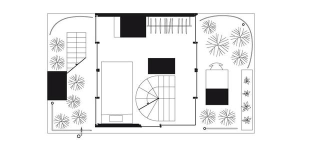 Garden & House in Tokyo Floor 4 - Ryue Nishizawa