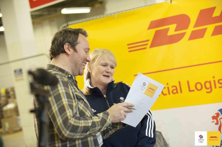 Olympic Curling Gold Medallist Rhona Martin learns more about DHL