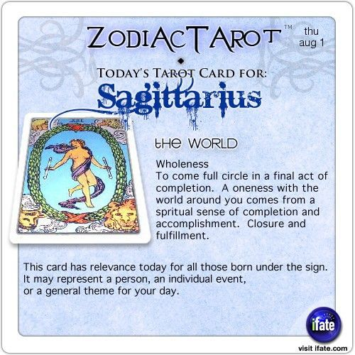 sagittarius today tarot
