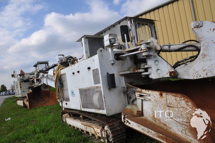 Tunnelbaumaschinen Schaeff ITC 112 mit Diesel Antrieb. http://www.ito-germany.de/kaufen/schaeff-itc Fotos eines gebrauchten Tunnelbagger Schaeff ITC HRS 112