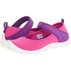Crocs Kids Busy Day MJ Flat Girls (Little Kid/Big Kid)-water shoes and cute everyday ones!